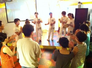 札幌でカポエイラ体験